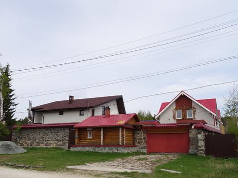 Шикарная усадьба, п. Сарапулка, 15 км от г. Березовский - Фото 1