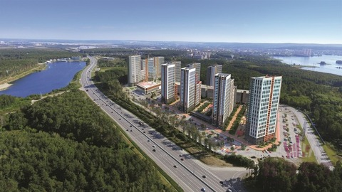 Квартира, ЖК Светлый, г. Екатеринбург - Фото 5