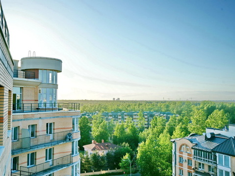 Продажа 420 кв.м пентхаус с террасой, башней высокими потолками в спб - Фото 3