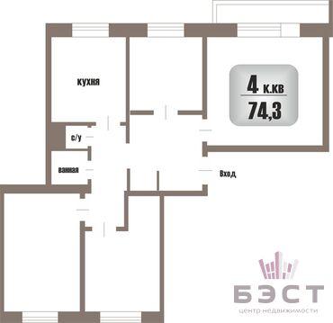 Квартира, ул. Мира, д.36 - Фото 1