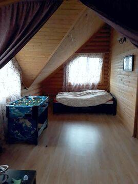 Бревенчатый дом, 90 кв.м. 11 сот. г. Лаишево - Фото 1