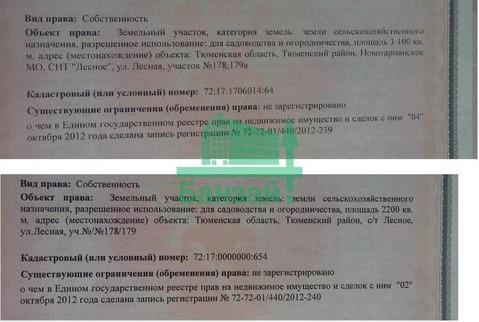 Продажа участка, Тюмень, Лесное - Фото 1
