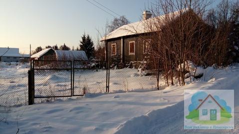 Хороший земельный участок с жилым домиком в 100 м. от оз. Вуокса - Фото 4