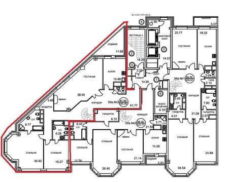 "Пентхаус 9 секция, 185 кв.м. в ЖК ""Royal House on Yauza"" - Фото 3"