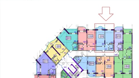 Купить квартиру по выгодной цене, ЖК Гармония моря. - Фото 4