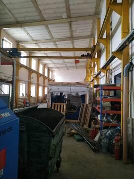 Производственное помещение 390 кв.м, кран балка 3т. - Фото 1