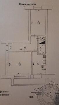 Продам 2 комнатную квартиру в село Гольяны, улица Совхозная 14 - Фото 4