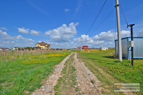 Участок под строительство в Волоколамске - Фото 3