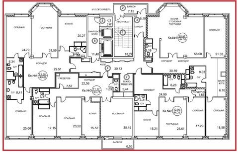 """Cвой видовой этаж 550кв.м. в ЖК """"Royal House on Yauza"""" - Фото 1"""