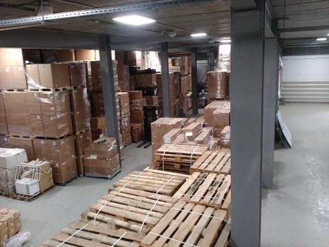 Отапливаемый склад 1100 кв.м,2 ворот - Фото 2