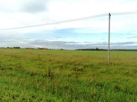 С/х земля 6,64 Га в деревне Милятино, асфальт, электричество, река - Фото 2