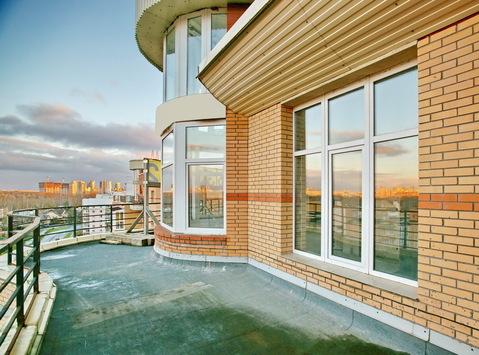 Продажа уникальной 180 кв.м 3 комнатной квартиры с террасой и башней - Фото 1