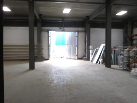 Отапливаемый склад 1100 кв.м,2 ворот - Фото 3