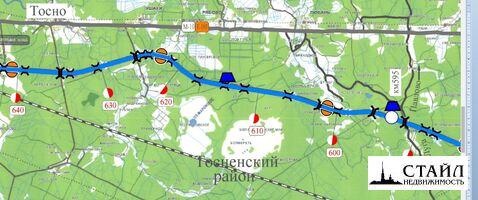 Земельный участок 9,1 Га под коммерческое пользование, 12 км от шоссе - Фото 1