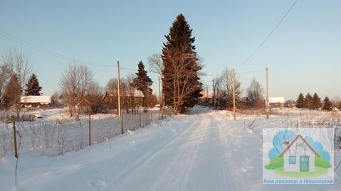 Хороший земельный участок с жилым домиком в 100 м. от оз. Вуокса - Фото 3