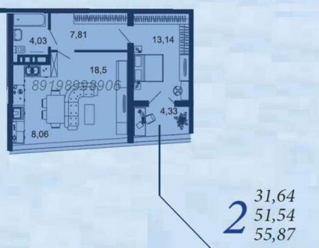 2 комн. кв. Центр/Буденовский, без %%%%%%%%%%% - Фото 5