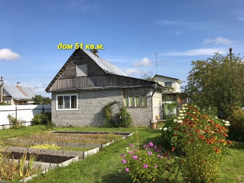 Продам дом в Всеволожском р-не, пос. им Морозова, СНТ Орешек-2 - Фото 1