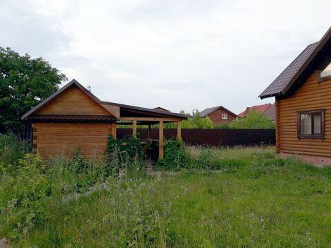 Бревенчатый дом, 90 кв.м. 11 сот. г. Лаишево - Фото 2