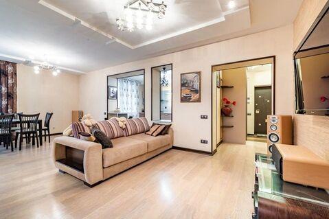 3-комнатная квартира 110 кв.м. 2/9 кирп на Чистопольская, д.73 - Фото 1