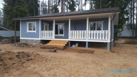 Продается новый жилой дом 120м2, уч. 17 сот со своим прудом с карасями - Фото 1