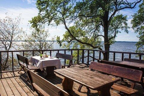Продажа турбазы на озере в Ленобласти 1200 кв.м на 153 сотках земли - Фото 4