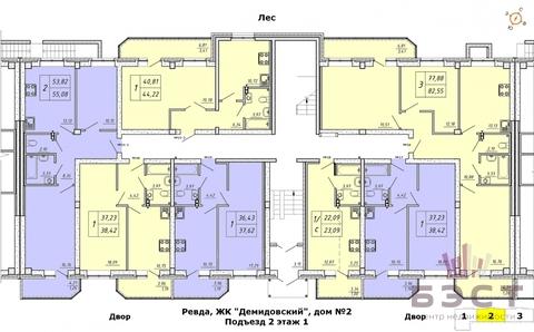 Квартира, ЖК Демидовский, Солнечный переулок, д.5 - Фото 3