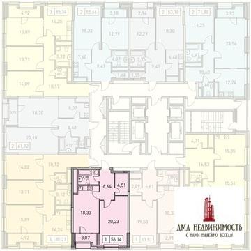 Однокомнатная квартира по адресу ул. Поляны д.5 б3 (ном. объекта: . - Фото 1