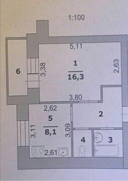 Срочно продам 1-к квартиру - Фото 3