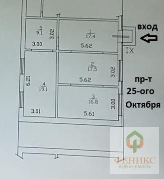 Коммерчекое помещение 80 кв.м, 1-ый этаж - Фото 2