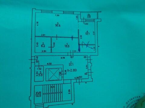Продам двухуровневую квартиру с видом на море в сданном доме. - Фото 3