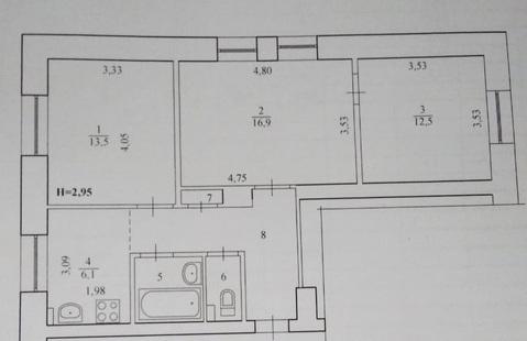 Квартира, пр-кт. имени Ленина, д.87 - Фото 2
