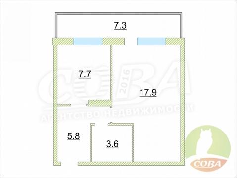 Продажа квартиры, Тюмень, Малиновского, Купить квартиру в Тюмени, ID объекта - 332850036 - Фото 1