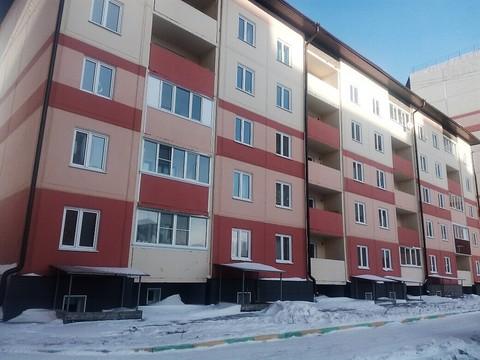 2-к квартира ул. Солнечная поляна, 99а, Купить квартиру в Барнауле, ID объекта - 317971901 - Фото 1