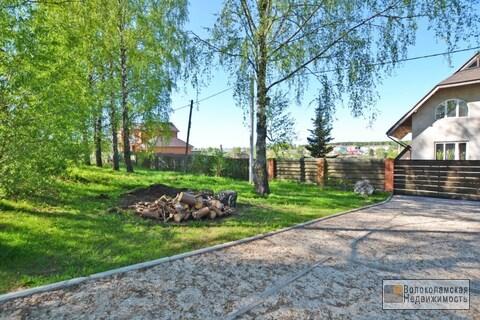 Участок 18 соток в городе Волоколамск (газ по границе) - Фото 1