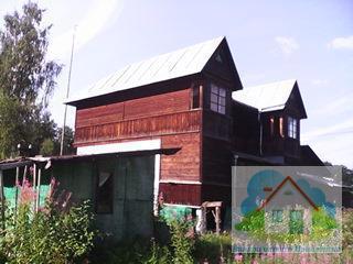 Добротный садовый дом с участком 13 сот. Оз Большое Ольховское - Фото 1