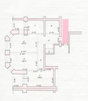 Квартира, пер. Льва Толстого, д.5 - Фото 5