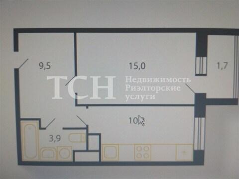 1-комн. квартира, Пирогово, ул без улицы, - Фото 2