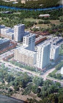 Квартал у реки ул Ярославская - Фото 1