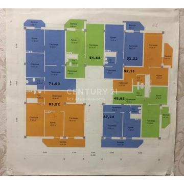 Продажа 1-к квартиры (каркас) по ул Магарамкентская, 58 м2, 11/13 эт. - Фото 2