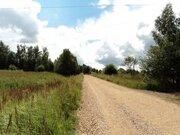 Участок на берегу реки, 6,6 Га. д. Милятино, 120 км от МКАД, МО. - Фото 1