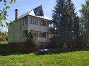 Два деревянных дома 140 кв.м. и 200 кв.м на 42 сот. 32 км. от МКАД - Фото 1