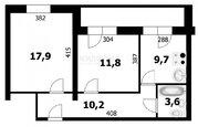 Продажа квартиры, Бердск, Северный мкр, Купить квартиру в Бердске по недорогой цене, ID объекта - 334062675 - Фото 16