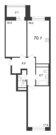 Продажа 2-комнатной квартиры, 70.1 м2 - Фото 2