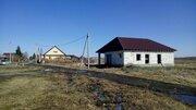 Недостроенный дом, п.Богандинский, Тюменский район - Фото 1