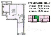 3х-комнатная квартира на Московском проспекте 90м2 в 5 мин. от Центра - Фото 3
